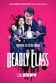 Interviews: Syfy's 'Deadly Class' Reflect on Season 1 at Wondercon